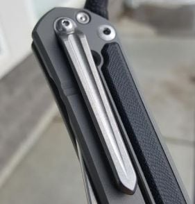 Millit Machined Titanium Clip